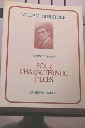 Hurlstone W - Four Characteristic Pieces for Clarinet & Piano